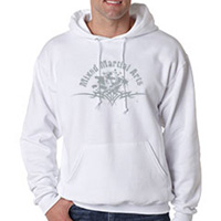 Tiger Claw Mixed Martial Arts Hooded Sweatshirt
