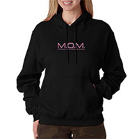 Tiger Claw M.O.M. Mother of a Martial Artist Hooded Sweatshirt