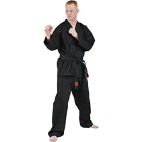 Tiger Claw 8oz Medium Weight 100% Cotton Traditional Karate Uniform