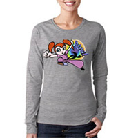 Tiger Claw Pow! Long Sleeve T-Shirt