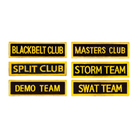 Tiger Claw Rectangular Group Patches