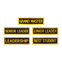 Tiger Claw Rectangular Leadership Patches