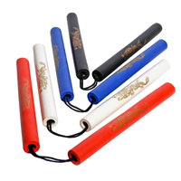 Tiger Claw Solid Color Foam Nunchaku