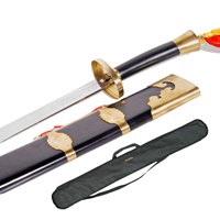 Tiger Claw Stainless Steel Kung Fu Broadsword