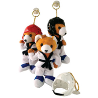 Tiger Claw Stuffed Karate Bear