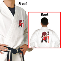 Tiger Claw Traditional Light Weight Karate Uniform - Kid Monkey