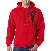 Tiger Claw Triangle Hooded Sweatshirt
