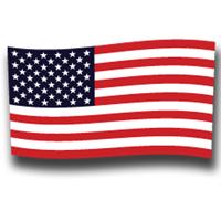 Tiger Claw USA Flag