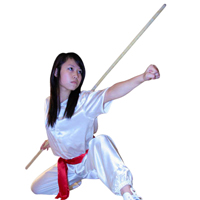 Tiger Claw Wushu Waxwood Staff