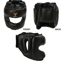 ProForce Thunder Leather MMA Headgear