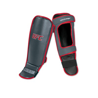 UFC Shin/Instep Guard - Red/Gray