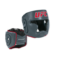 UFC MMA Head Guard Red/Gray