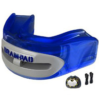 Wipss 'Brain Pad' Jaw-Joint Protector Mouthguard - Translucent Blue