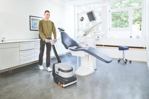 SC250 In use in a dental office