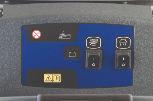 Control Panel for the Advance SC450 Floor Scrubber
