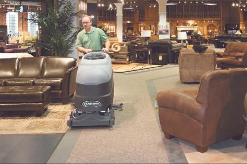 Adphibian Cleaning Carpet