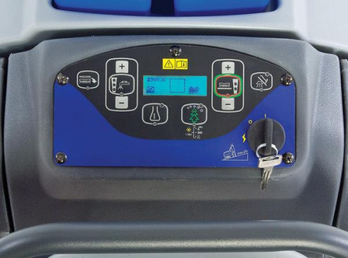 SC750 floor scrubber Controls