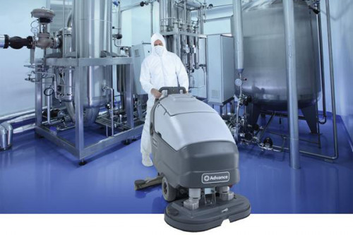 SC800 Cleaning in a manufacturing facility