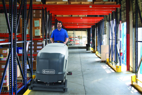 SC900 Cleaning in a distribution facility