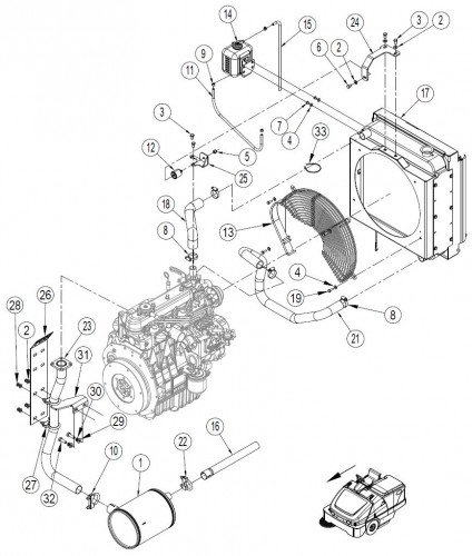 Kubota Engine Diagram