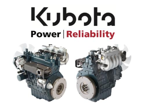 Kubota industrial engines