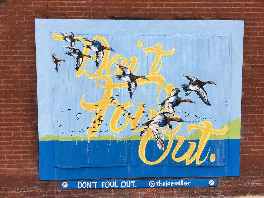 mural in Chicago by artist Joe Miller