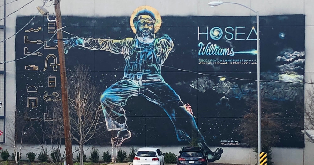 mural in Atlanta by artist Fabian Williams