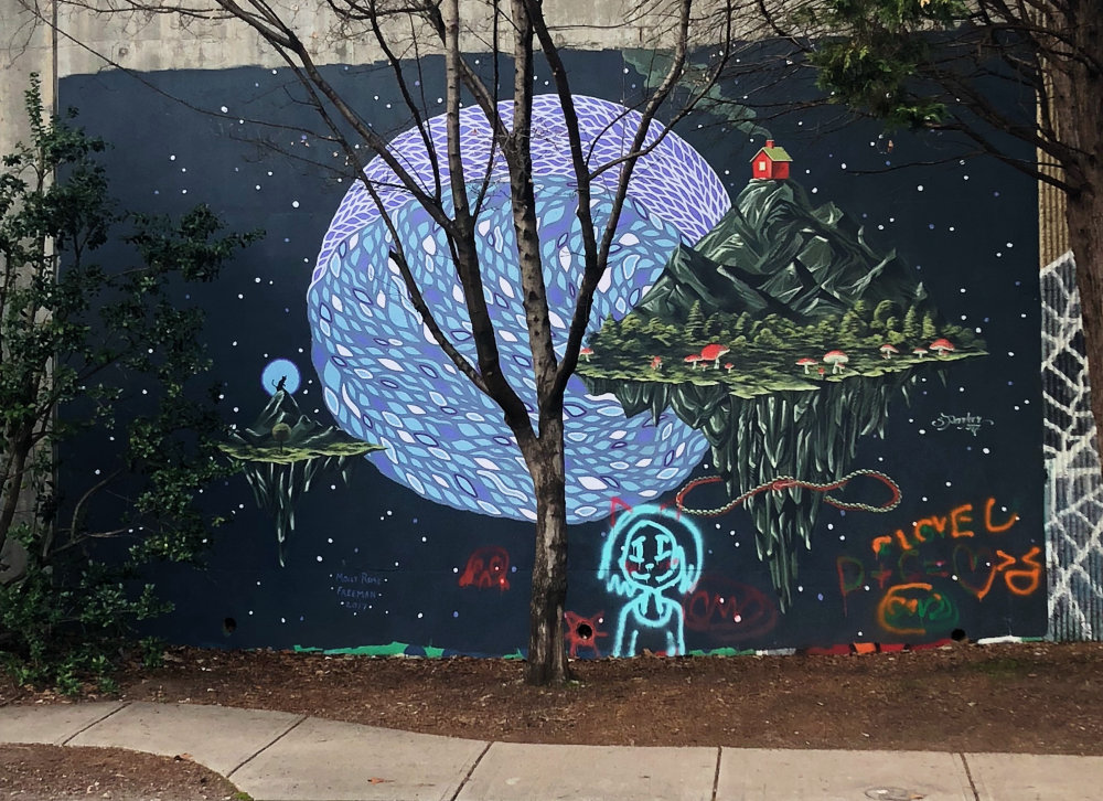 mural in Atlanta by artist Molly Rose Freeman