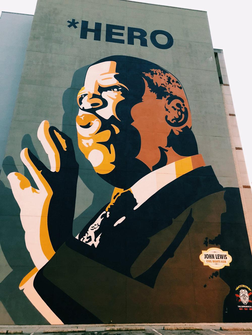 mural in Atlanta by artist Sean Schwab