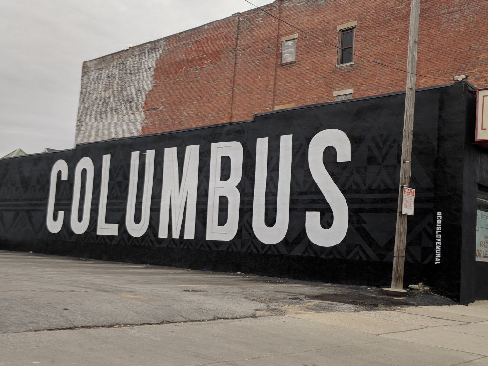 mural in Columbus by artist Nick Kinney