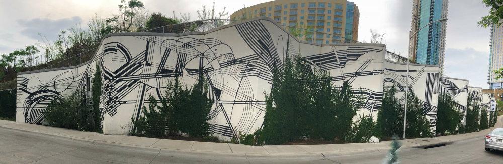 mural in Austin by artist Sten and Lex