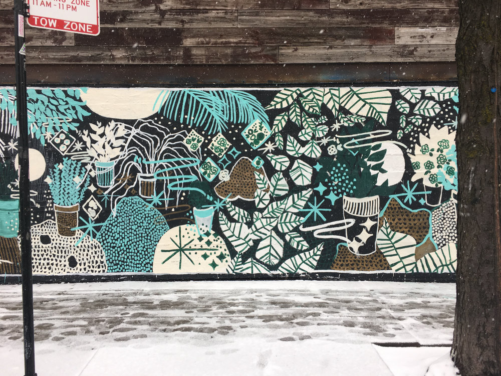 mural in Chicago by artist Mariana Rockwell