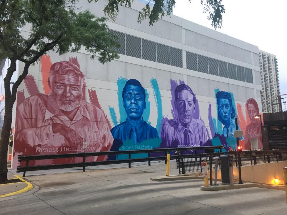 mural in Chicago by artist Jeff Zimmermann