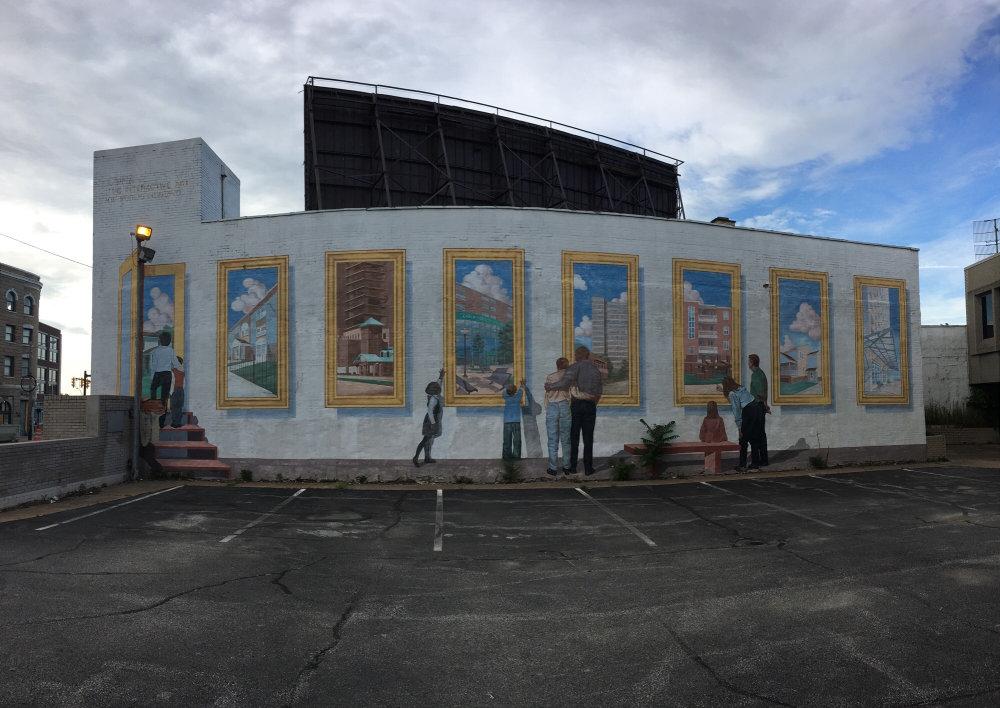 mural in Cleveland by artist John Rivera-Resto