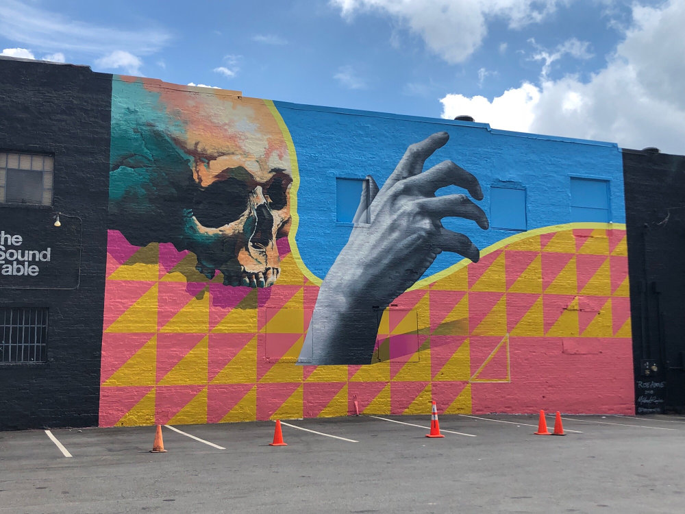 mural in Atlanta by artist Michael Reeder