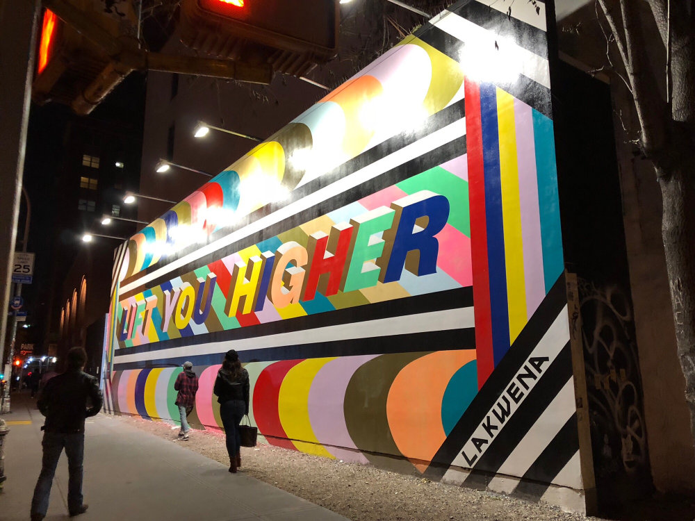 mural in New York by artist Lakwena Maciver
