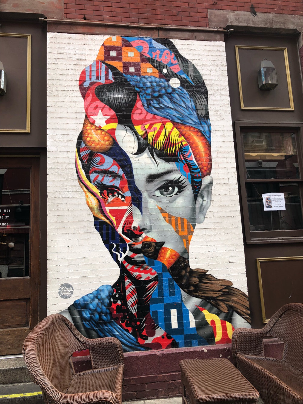 mural in New York by artist Tristan Eaton