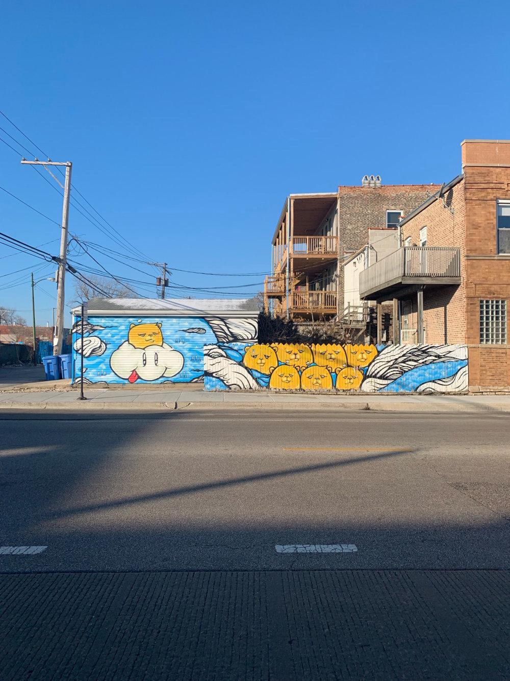 mural in Chicago by artist Jc Rivera