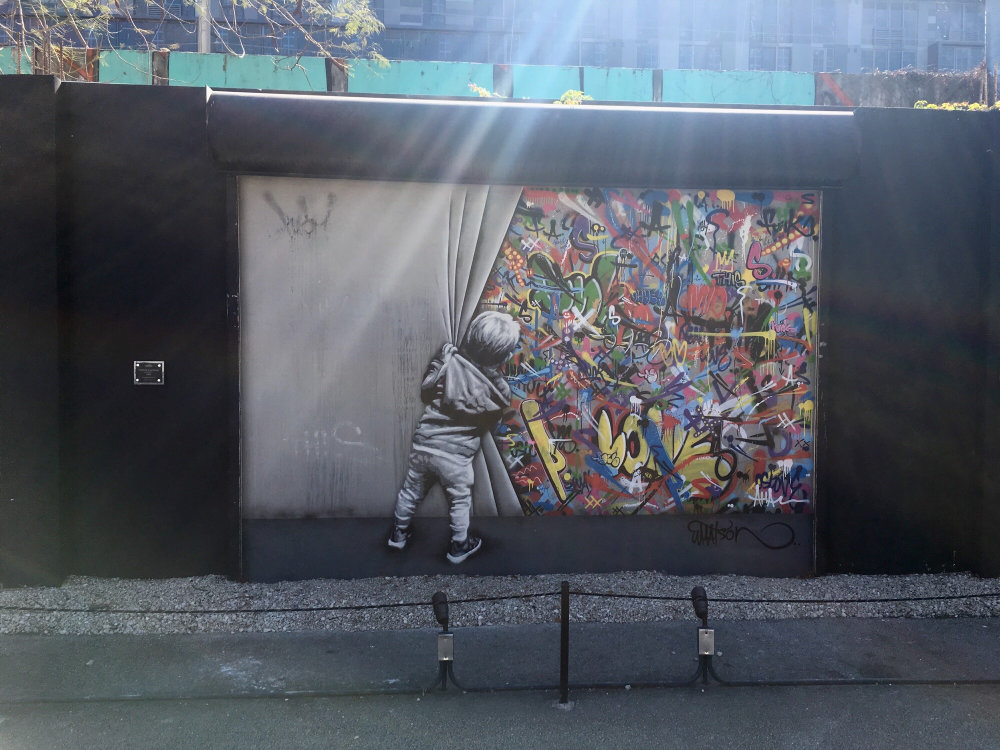 mural in Miami by artist Martin Whatson