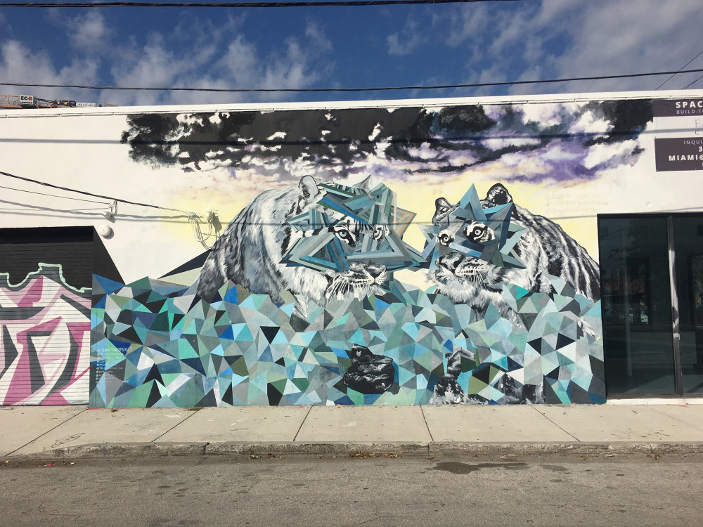 mural in Miami by artist Juan Travieso