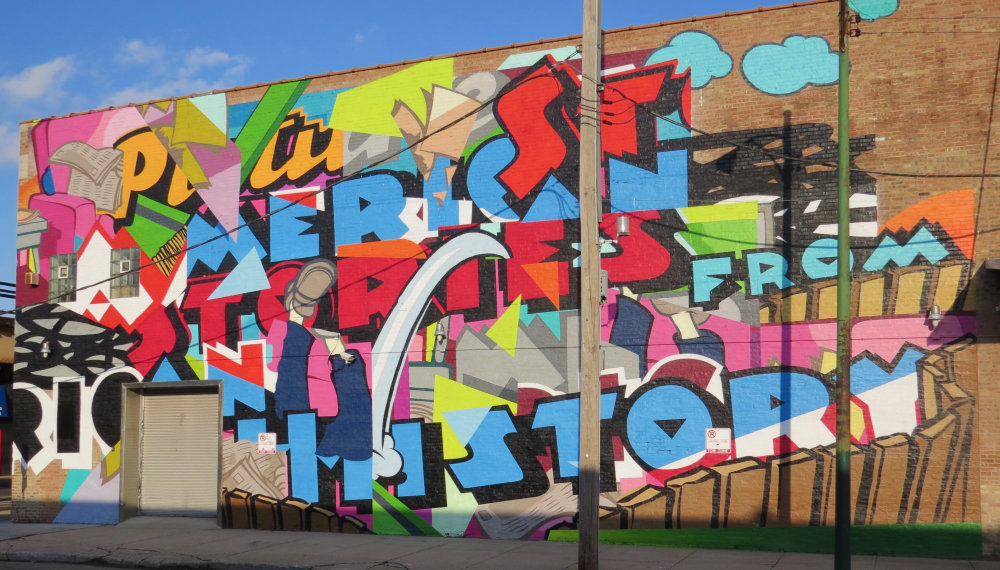 mural in Chicago by artist Jordan Nickel