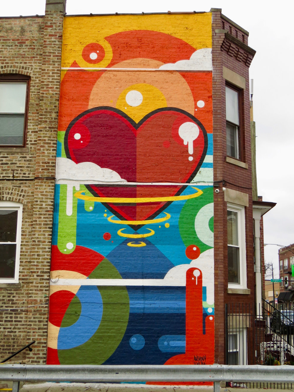 mural in Chicago by artist Anthony Lewellen