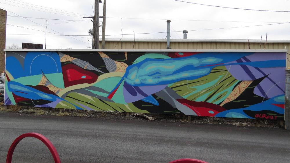 mural in Chicago by artist Rubén Aguirre