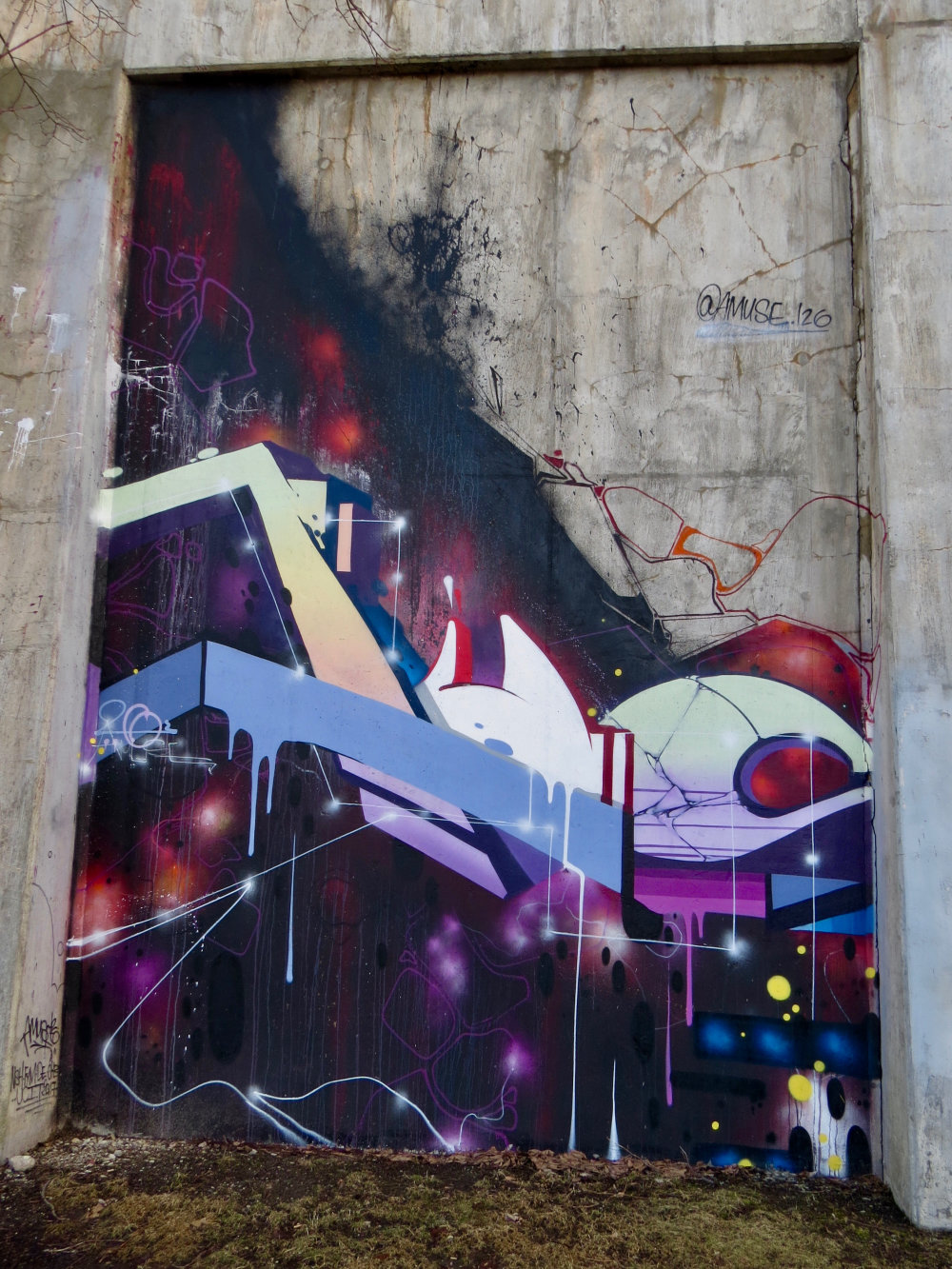 mural in Chicago by artist Amuse126