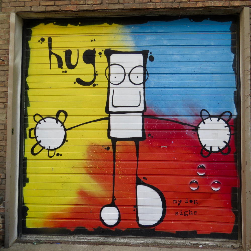mural in Chicago by artist My Dog Sighs
