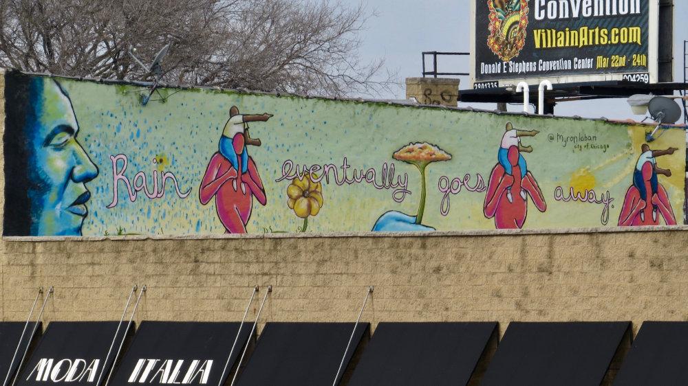 mural in Chicago by artist Myron Laban