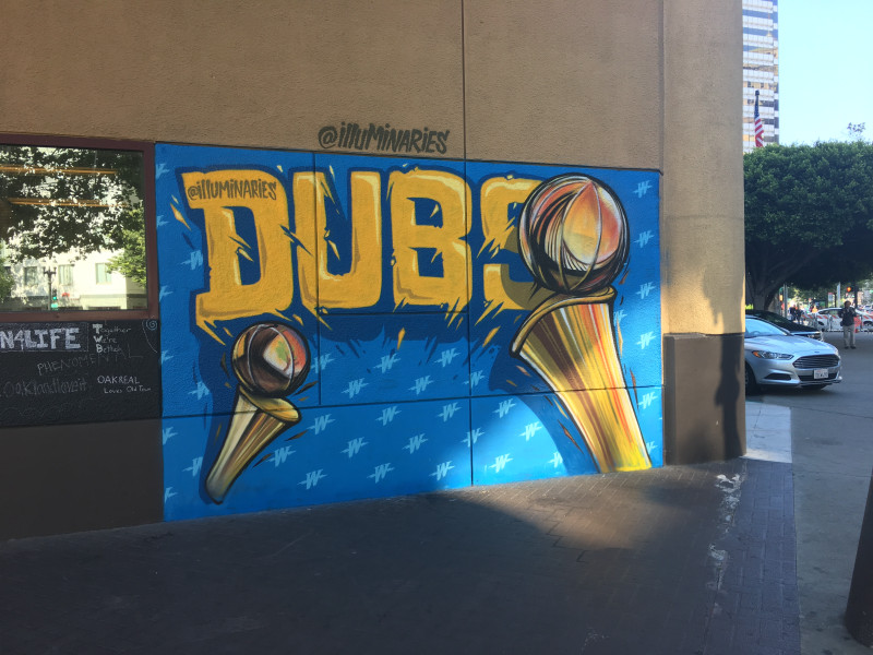 mural in Oakland by artist illuminaries