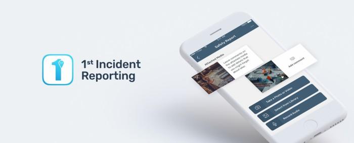 1St Incident Reporting App Redesign Hero Mockup