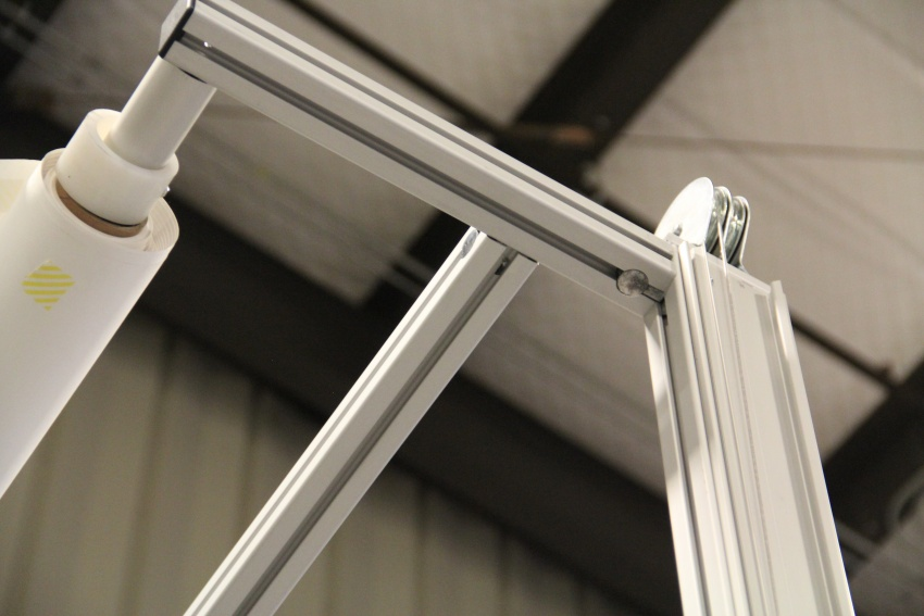 Extruded aluminum Counterweight system