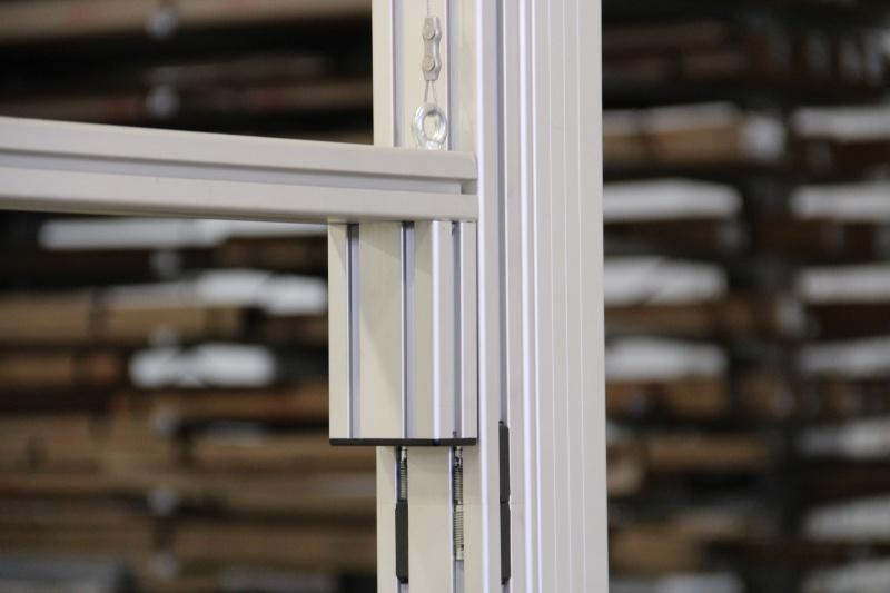 Extruded aluminum modification